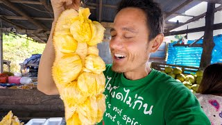 How To Eat CEMPEDAK FRUIT! | Harvesting and Eating Exotic Asian Fruit! (NOT a Jackfruit)