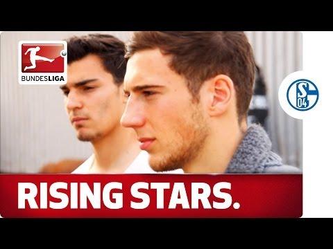 Leon Goretzka & Kaan Ayhan -- Schalke's Rising Stars Visit a Very Special Location