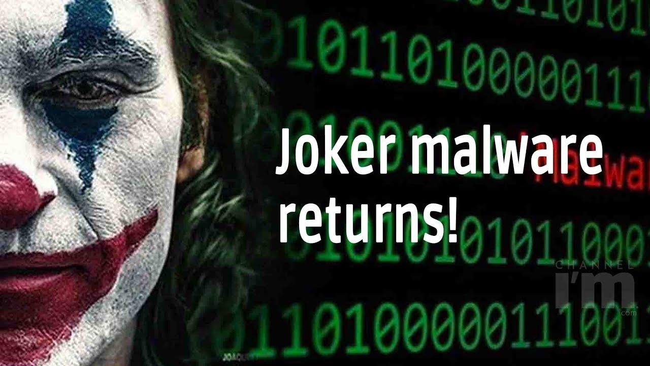 Eight Android apps test positive for Joker malware - YouTube