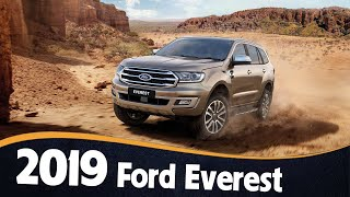 New 2019 Ford Everest Review | Ford Everest gets Ranger Raptor engine, 10-speed automatic