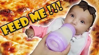 Feeding a Baby - How to Feed a Baby Milk