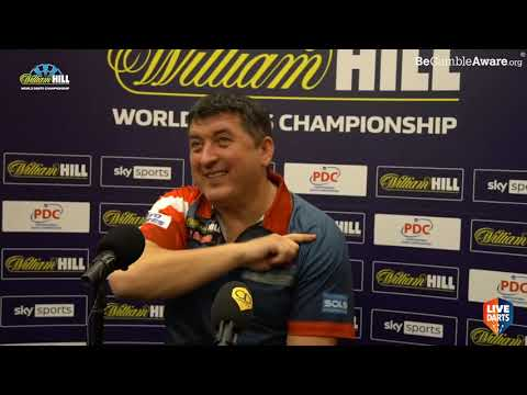"""Mensur Suljovic on Ally Pally curse, plus: """"My son told me """"papa, I think it's finished for you"""""""