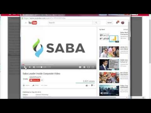 Saba LMS Upload - saba lms