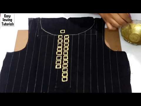 DIY : Fabric Painting   Create Designer Kurti at Home
