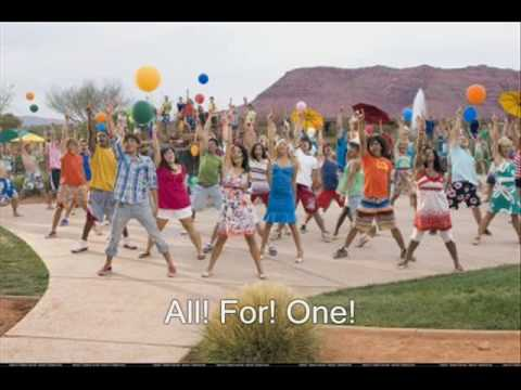 High School Musical 2 - All for One