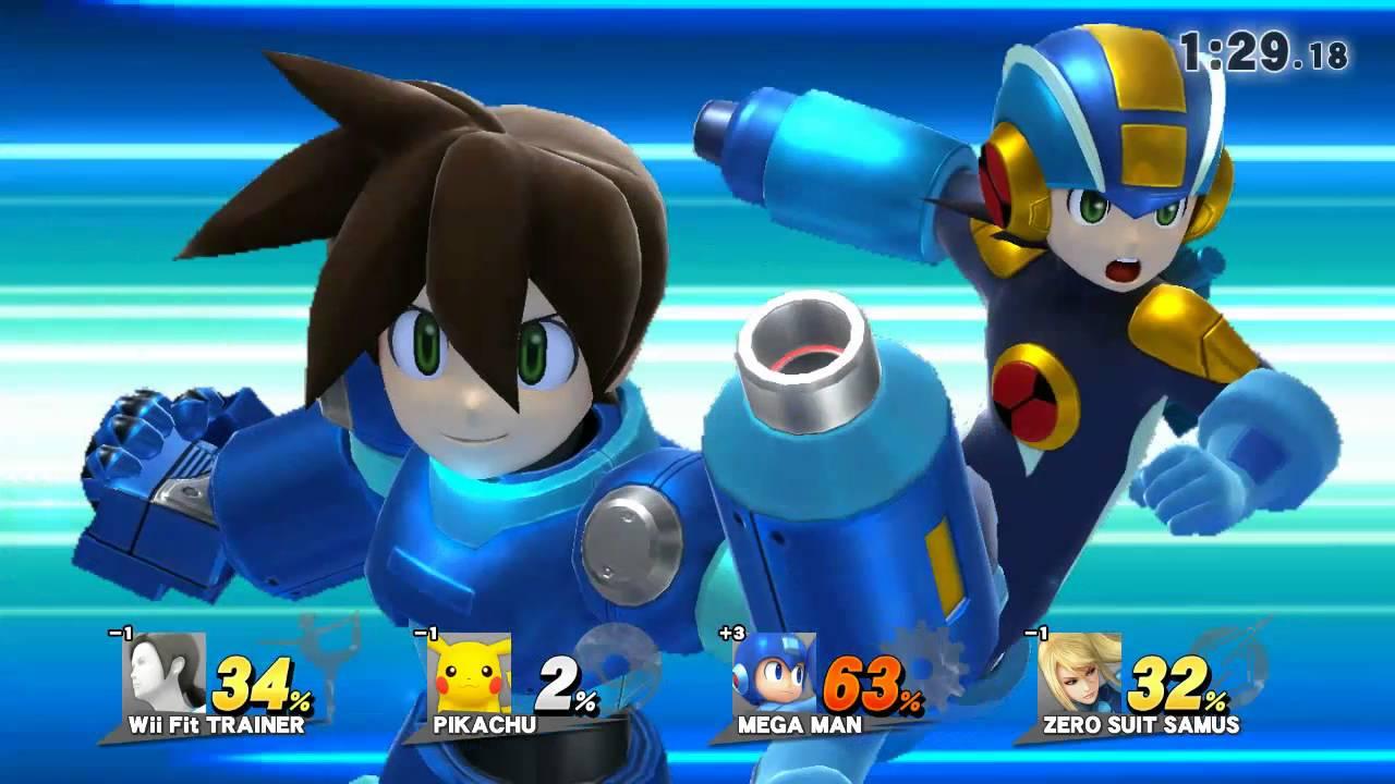 Super Smash Bros Wii U...