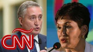 Ministro Degenhart dice que Thelma Aldana será llevada ante tribunales cuando vuelva a Guatemala