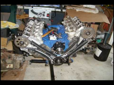 Hqdefault ford 5 4l rebuild youtube on ford 5 4 liter engine diagram