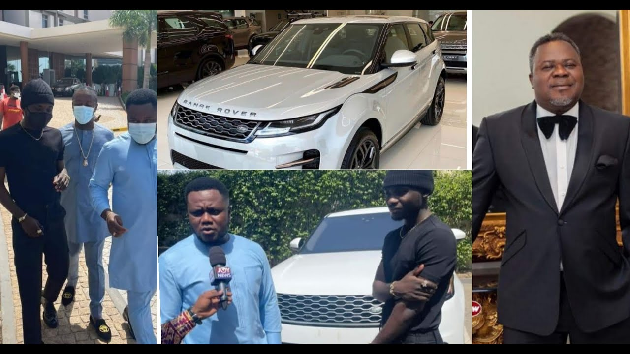 Kuami Eugene Receives Brand New Range Rover From Dr Dr Kwaku Oteng