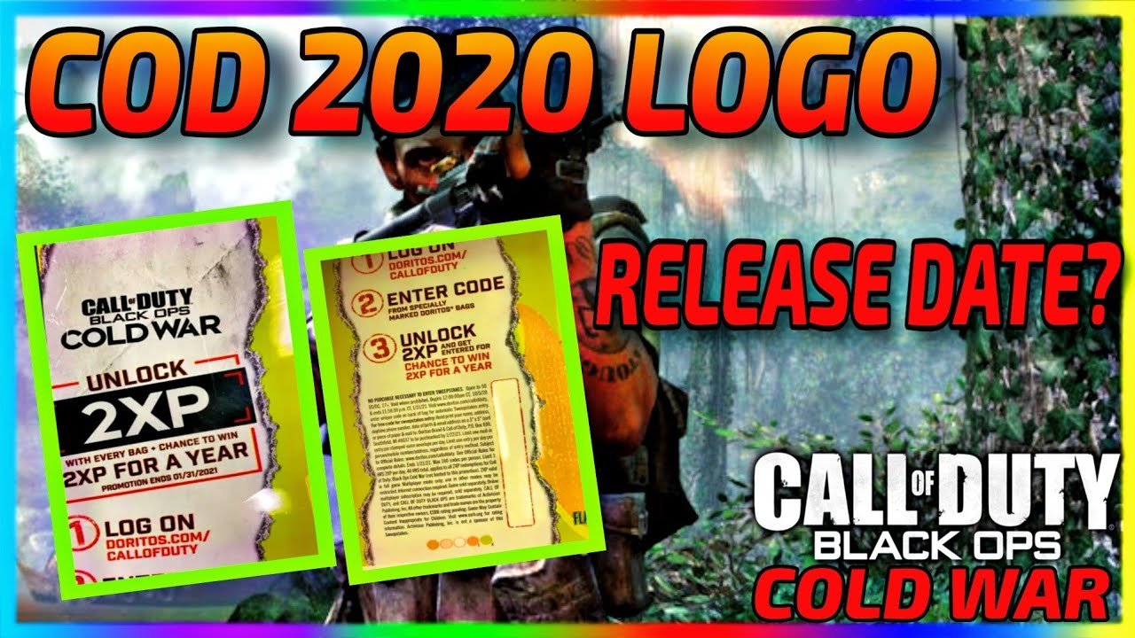 Download Cod 2020 Official Title Logo Leaked By Doritos Doritos