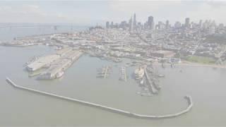 Aerial | SF Fisherman's Wharf 4K