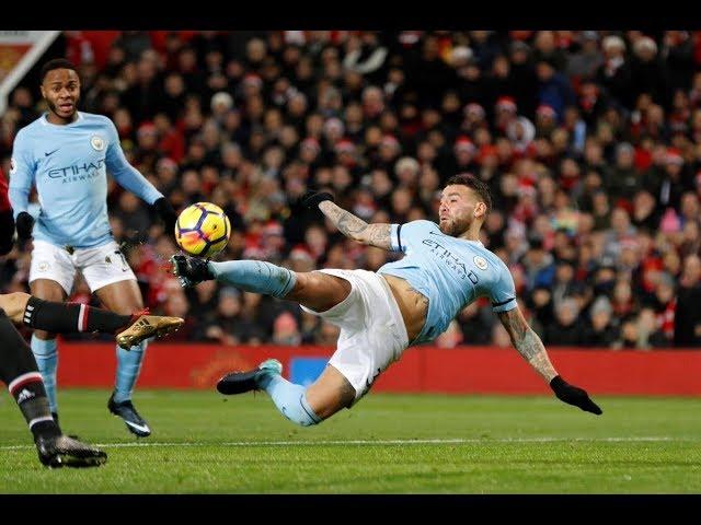 Gol de Otamendi - Manchester United 1 x 2 Manchester City - Narração de Fausto Favara