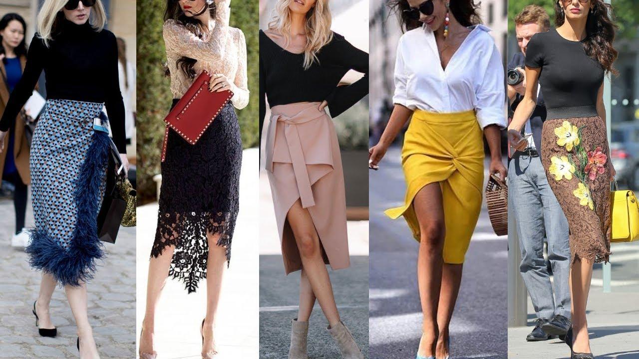 Nuevas Tendencias De Moda Mujer 2021 Faldas De Moda Elegantes Finas Sofisticadas Faldas De Moda 2021 Youtube