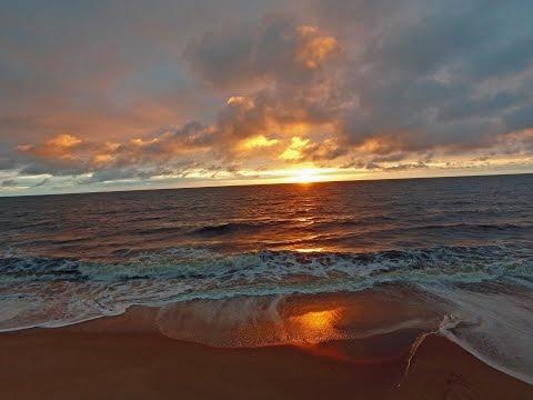 Sunset region of Nyonié Gabon
