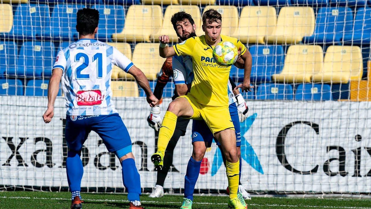 Highlights Villarreal C 1-1 Crevillente