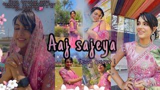 Aaj sajeya !💕✨|Wedding song |#Sneakerssong #Aajsajeya Thumb