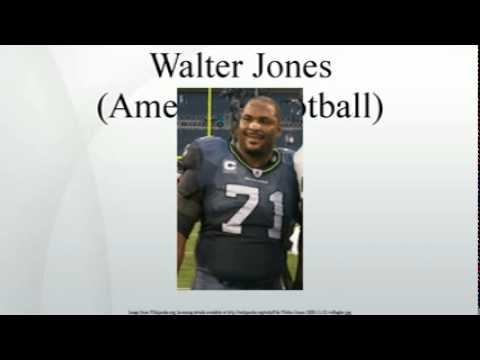 Walter Jones (American football)