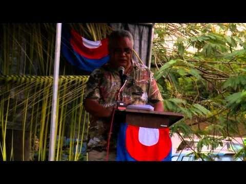Yap WWII Memorial Dedication Ceremony - Revised