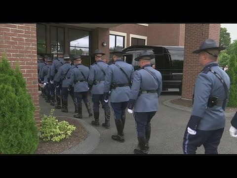 Funeral held for Massachusetts State Police Sgt. Mike Andrews