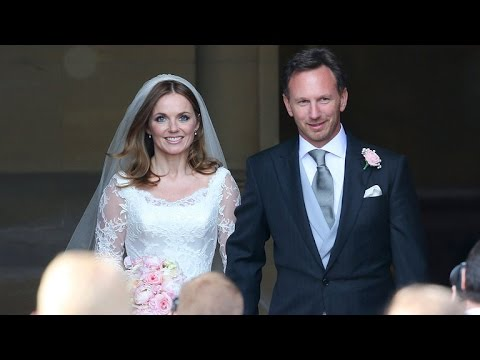 Geri Halliwell Is a Beautiful Bride in Extravagant Wedding to Christian Horner