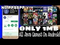 How To Download Unlimited Java Games On Android | No Root | No PPSSPP