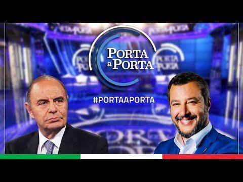 MATTEO SALVINI A PORTA A PORTA (RAI 1, 23.09.2020)