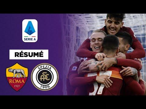 Résumé : La Roma s'en sort dans un match fou face à la Spezia