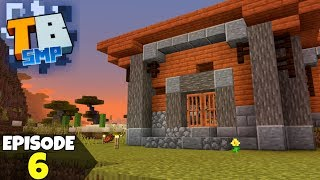 Truly Bedrock Episode 6! First EVER House, And Rogue Wither! Minecraft Bedrock Survival Let's Play!