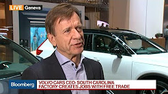 Volvo Cars CEO Says Tariffs Would Be a Problem for All of Us