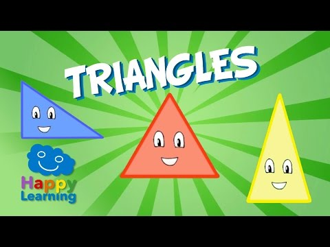 Triangles | Educational Video for Kids