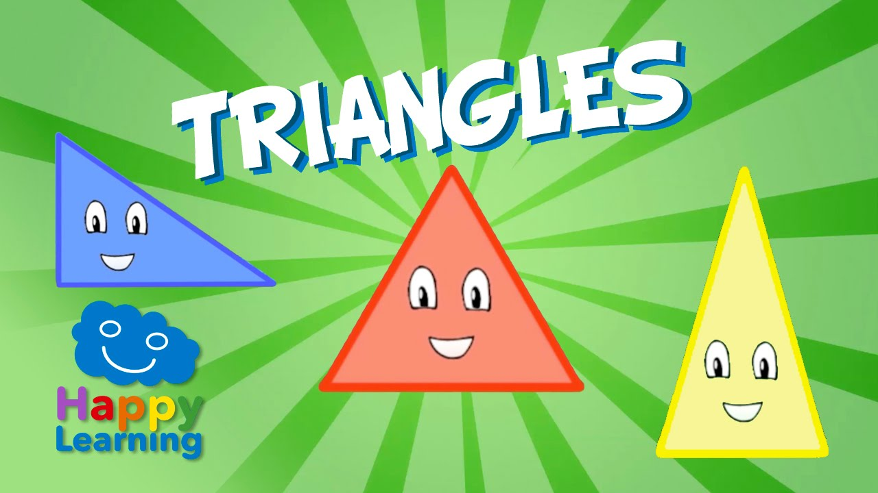 Triangles | Educational Video for Kids - YouTube
