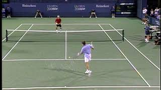 My First US Open: Roger Federer
