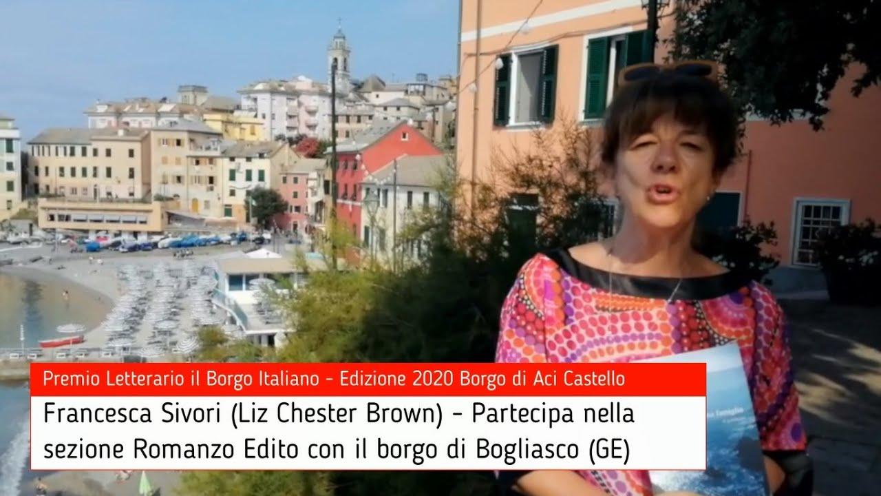 Francesca Sivori per Bogliasco su Premio Letterario il Borgo Italiano TV