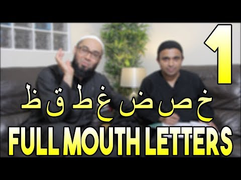 Lesson 1   7 Full Mouth Letters   Heavy Letters   Tafkheem Letters   Your Tajweed Made Easy