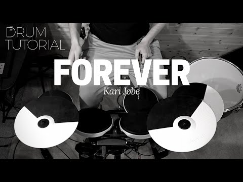 How to play Forever by Kari Jobe on drums | drum tutorial