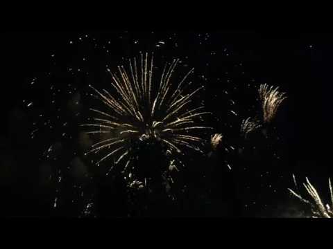 Fête nationale 2017 - Le feu d'artifice