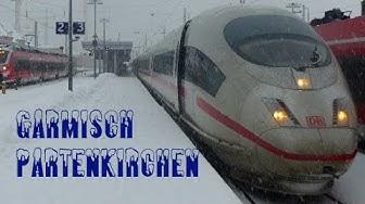 Züge/Trains in Garmisch-Partenkirchen