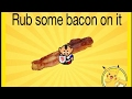 FUNNY BACON Rub Some Bacon On It | Graal Funny Music Video