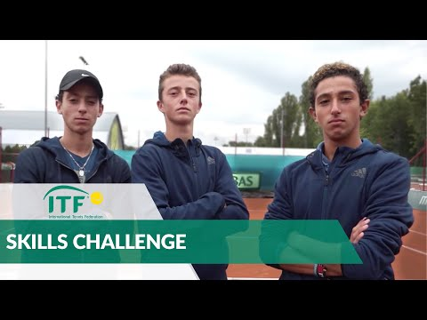 Junior Davis Cup and Junior Fed Cup Finals - Skills Challenge