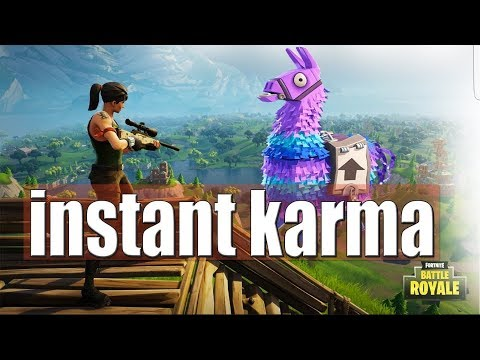 BEST INSTANT KARMA!-  Fortnite Funny Fails and WTF Moments! #1  (Fortnite Funny Moments)
