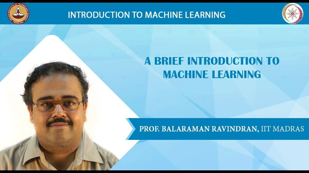 Introduction to Machine Learning (IITM) - Course