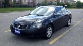 2006 Nissan Altima 2.5 S Special Edition - VG Automobiles Review