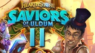 Saviors of Uldum Review #11 - HEAL DRUID REVIVAL! | Hearthstone