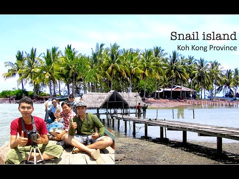 Snail Island at Chi Khor Krom in Sre Ambel district | Koh Kh