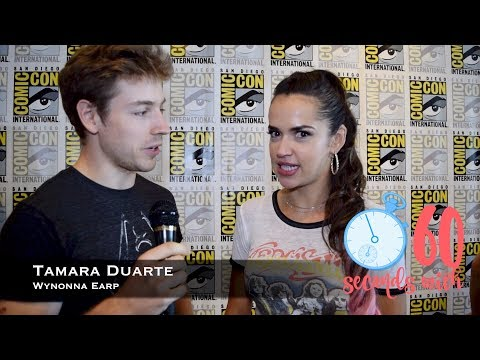 60 Seconds with Wynonna Earp's Tamara Duarte