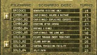 Jagged Alliance Deadly Games Scenario Menu Music with MT-32 (CM-500 Mode B)