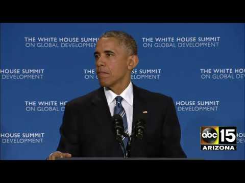 FULL SPEECH: President Obama White House Summit on Global Development