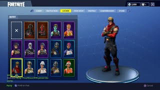 Fortnite - All My Outfits, Tools, Stats #2