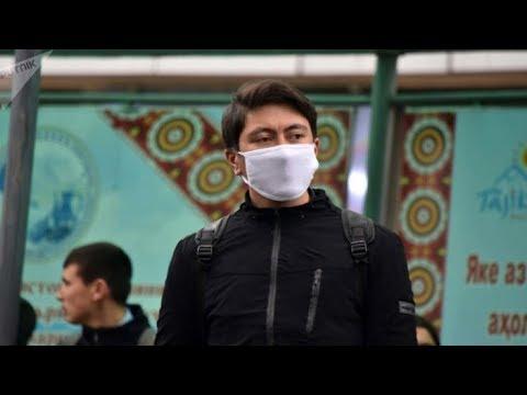 В Таджикистане введены штрафы за выход на улицу без маски