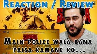SIMMBA | Official Trailer Reaction | Ranveer Singh, Sara Ali Khan